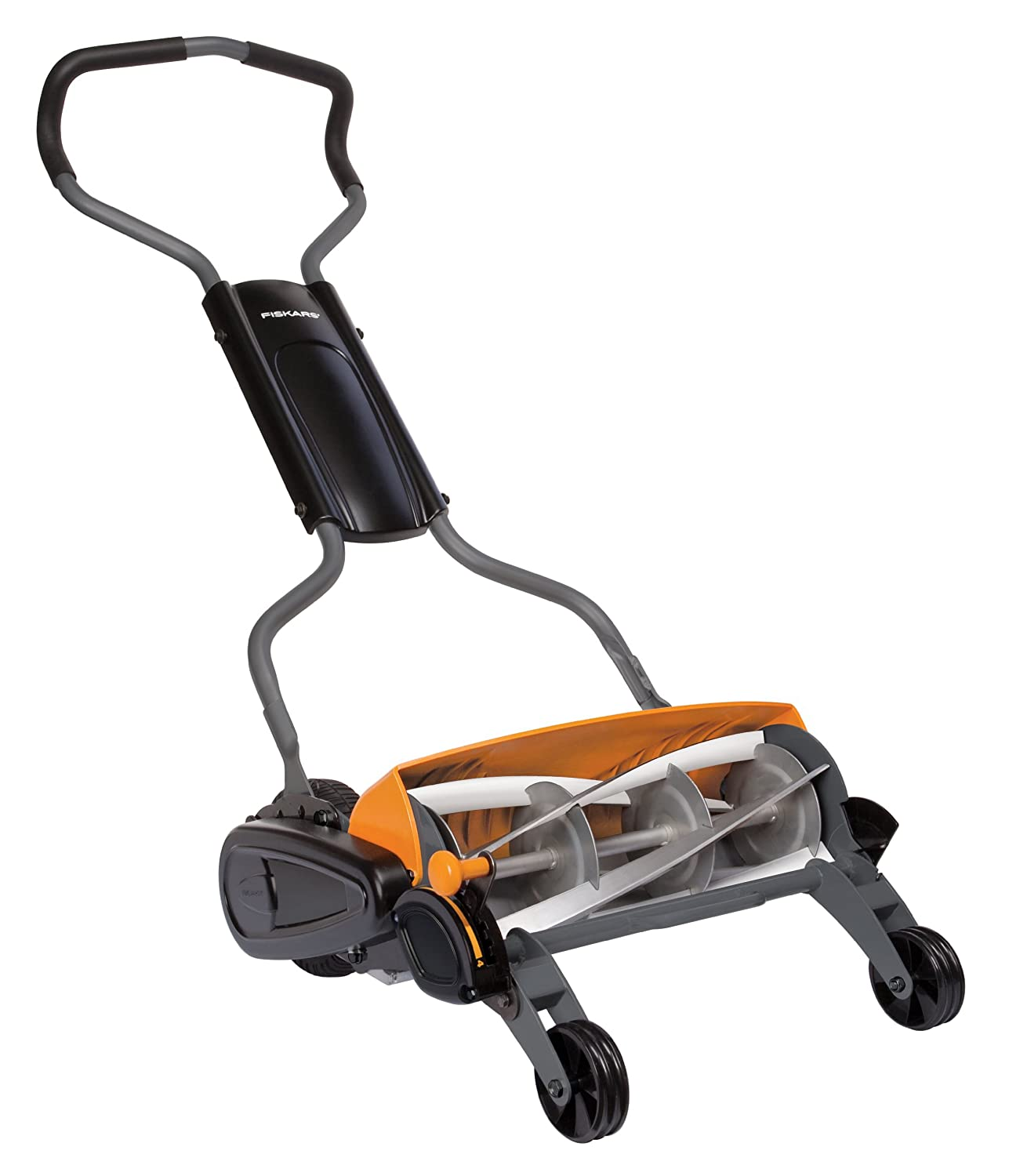Amazon Fiskars 18 Inch Staysharp Max Reel Mower Garden & Outdoor