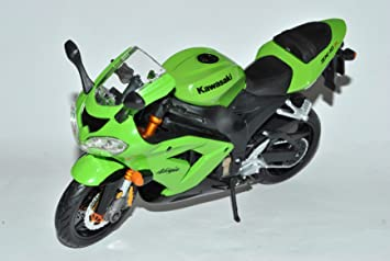 Kawasaki Ninja Zx de 10R ZX 10 R ZX10 10R verde 1/12 Maisto ...