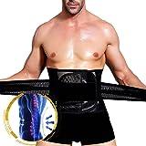 Slimerence Waist Trimmer, Adjustable Slimming Sweat Belt Back Support Belt Brace Accelerates Weight Loss Sauna Waist Trainer Caloric Burner Belt