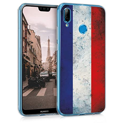 coque huawei p20 lite rouge silicone