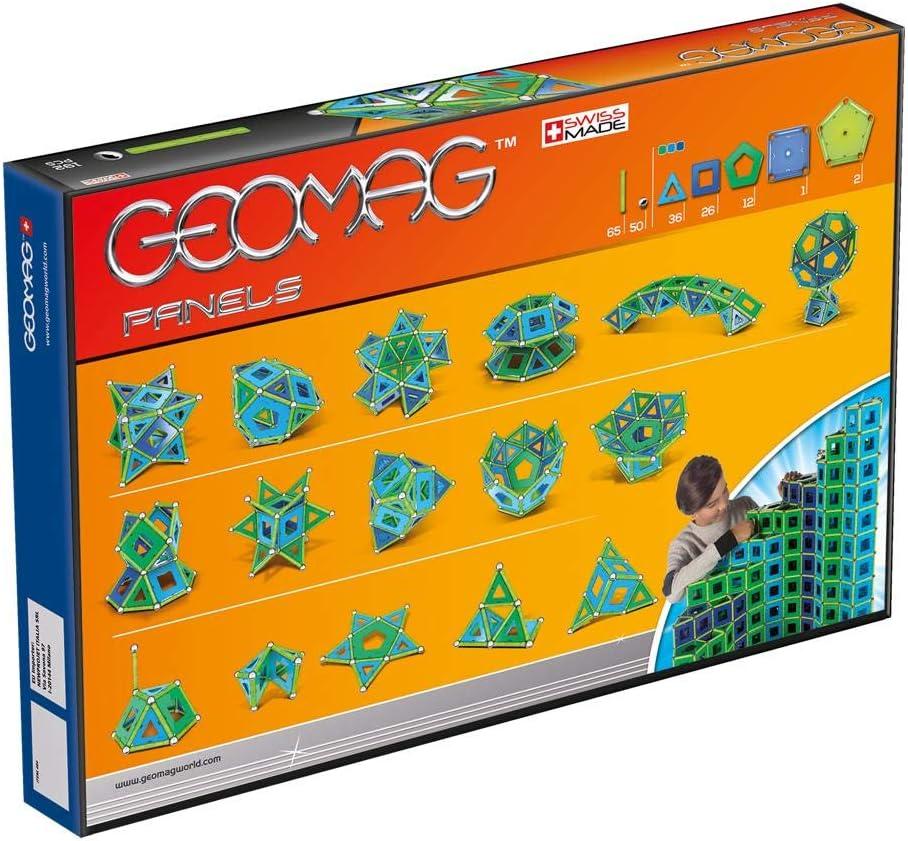 Geomag Classic Panels Juego de Construcción Educativo, 192 piezas (464), Multicolor: Amazon.es: Juguetes y juegos