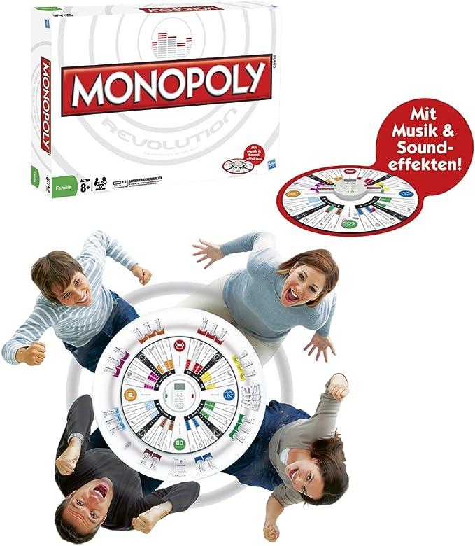 Hasbro 17146100 - Juego de Mesa Monopoly Revolution (en alemán): Amazon.es: Juguetes y juegos