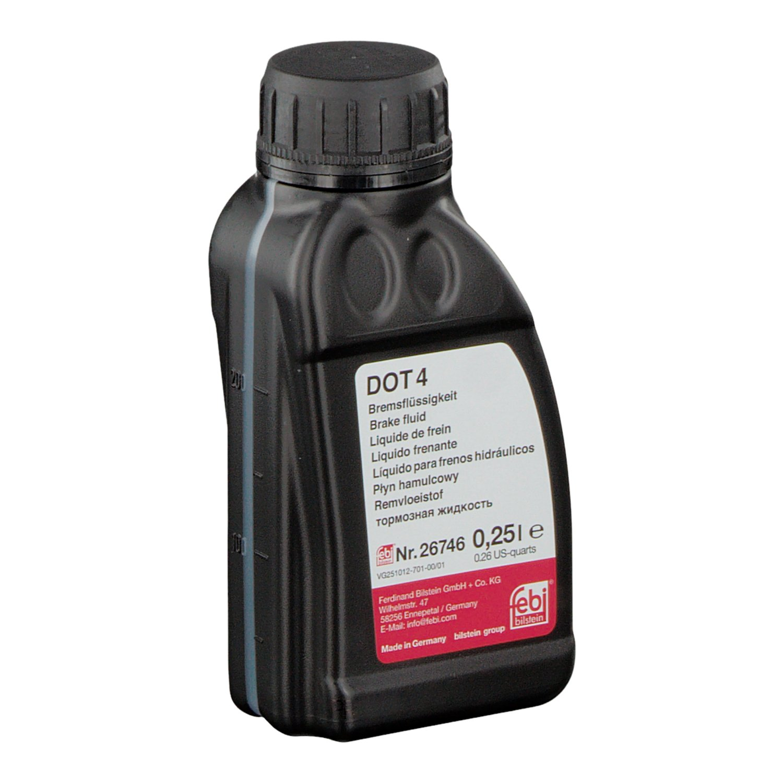 febi bilstein - Liquido per freni DOT 4 Ferdinand Bilstein GmbH + Co. KG 26746