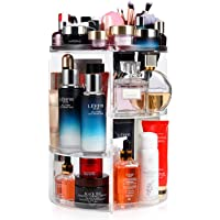 Miserwe 360 Degree Rotating Large Capacity Makeup Organizer