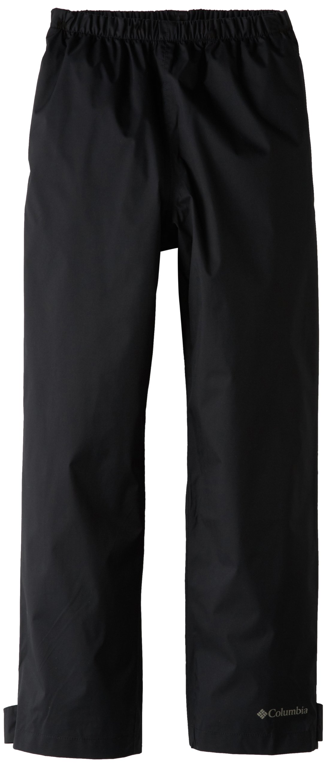 Columbia Big Boys' Trail Adventure Pant, Black, Large