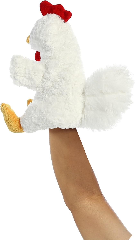 11 Cluck Chicken Aurora Hand Puppet
