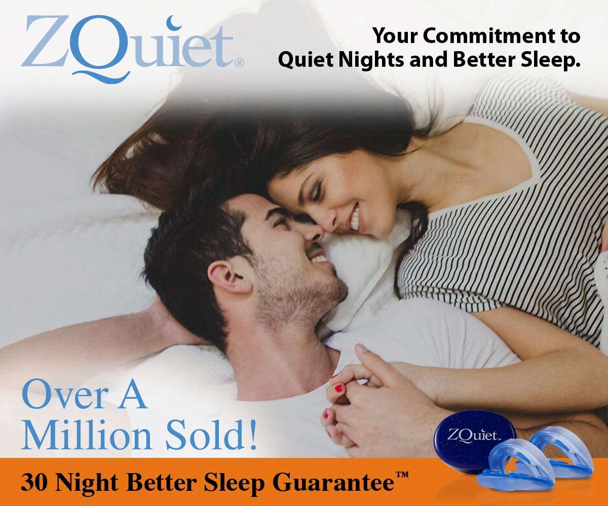 ZQuiet Anti-Snoring Treatment, 2-Size Comfort System Starter Kit, Set of 2 Sleep Aid Mouthpieces Plus Travel Case by ZQuiet (Image #3)
