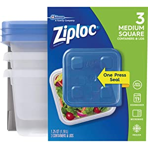 Ziploc Food Storage Container Set