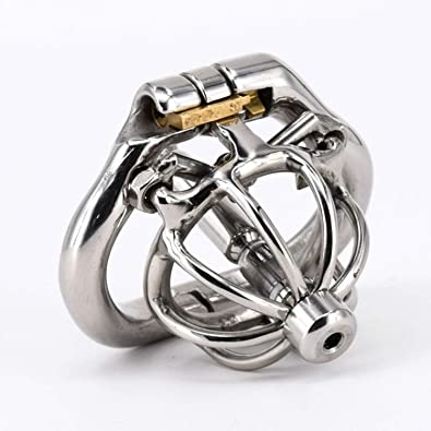Aworth Fun Store Best Choice Male Chastity Cage Spiked C Ock Cage Stainless Steel With