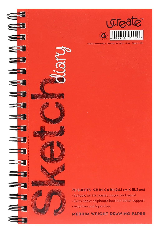 U-Create Sketch Book, 9.5