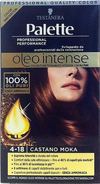 Palette Oleo Intense Permanent Intensive Oil Color 4-18 brown Moka
