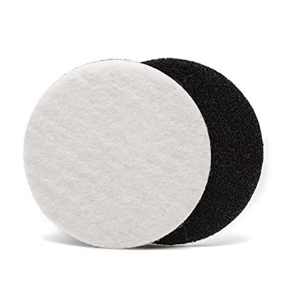 GP11008 Felt Polishing Pad Set for Polishing Glass, Plastic, Metal, Marble/Diameter 5 inch/Pack of 5 Pads: Home Improvement