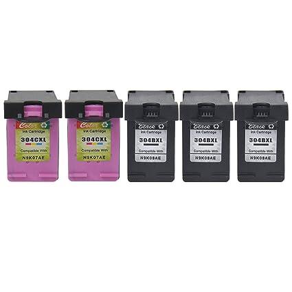 NineLeaf - Cartucho de Tinta Reciclado de Alta Capacidad para HP ...