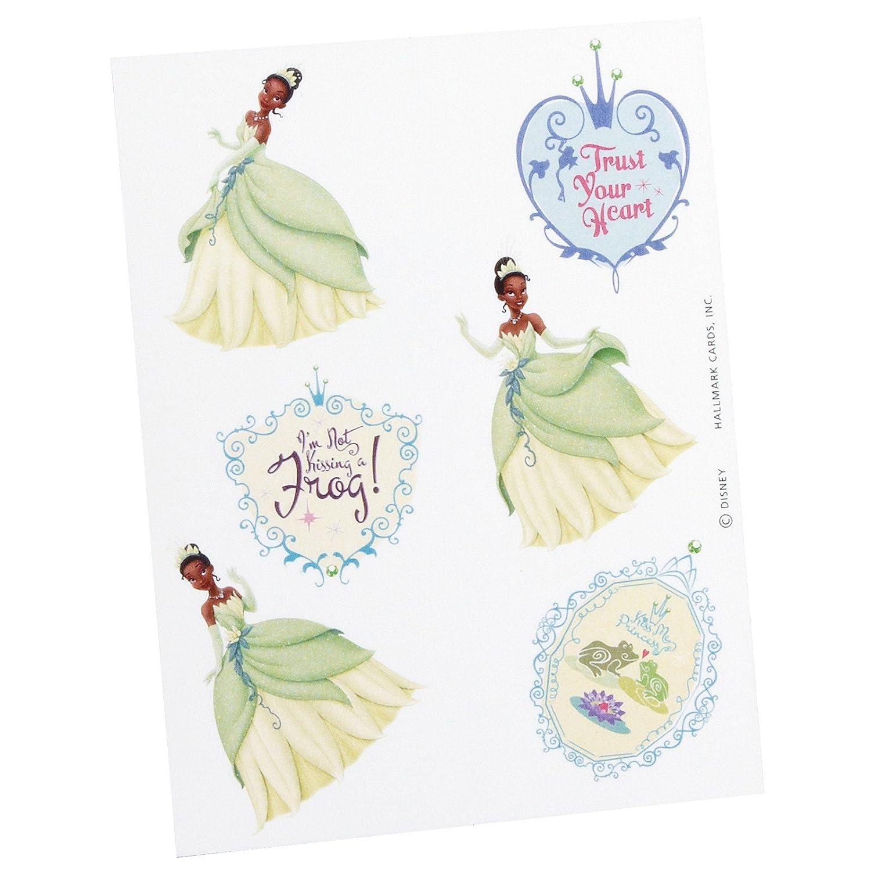 Princess and the Frog Temporary Tattoos 2 sheets