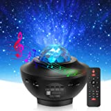 Star Projector & Night Light, Torjim 2 in 1 Ocean Wave Night Light Projector with Remote Control & Auto-Off Timer…