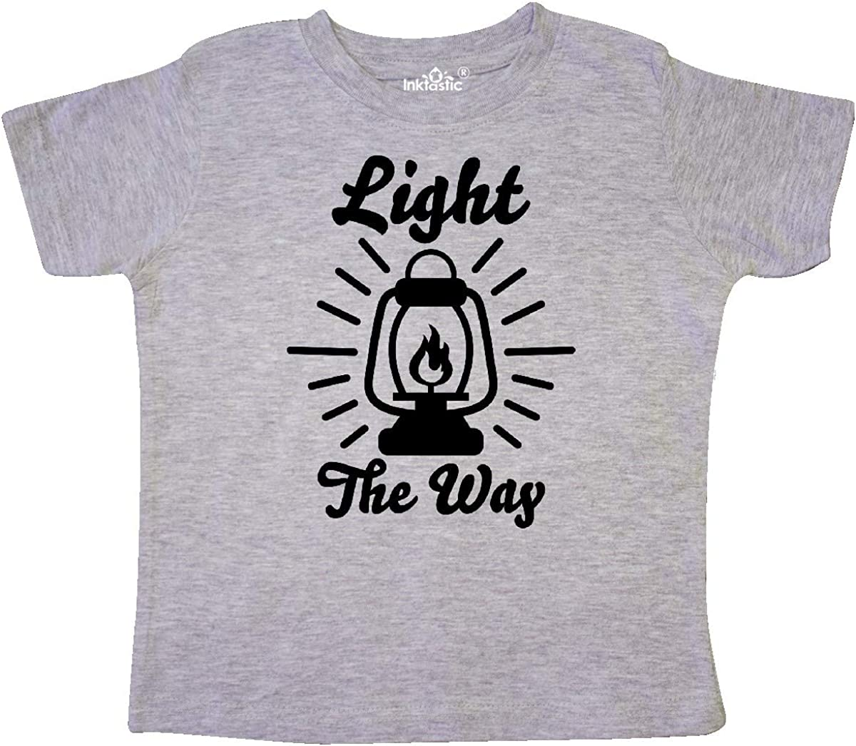 inktastic Light The Way with Oil Lamp Toddler T-Shirt