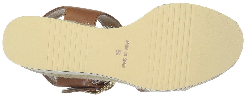 André Assous Women's Carmela Espadrille Wedge Sandal B077KBYY9X 9 B(M) US|Cognac