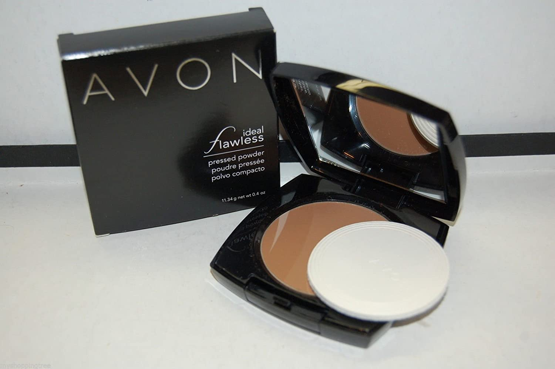Amazon.com : Avon Ideal Flawless Pressed Powder - Toffee - G306 (Toffee) : Beauty