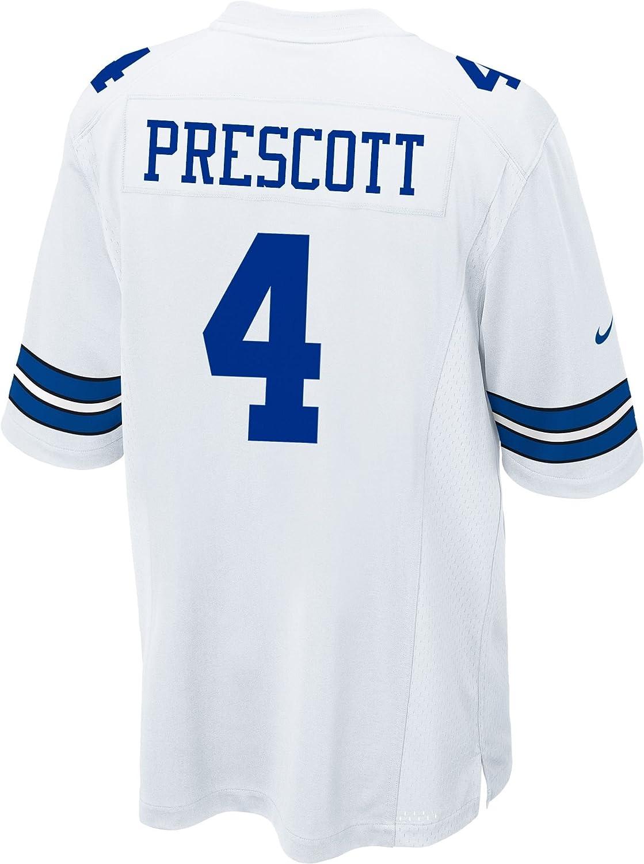 new product ef5c8 0ed4f Amazon.com : Nike Men's NFL Dallas Cowboys Dak Prescott ...