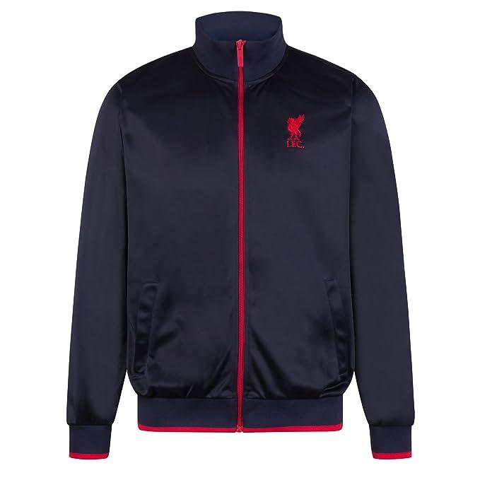 Liverpool FC - Chaqueta de entrenamiento oficial - Para hombre - Estilo retro: Amazon.es: Ropa y accesorios