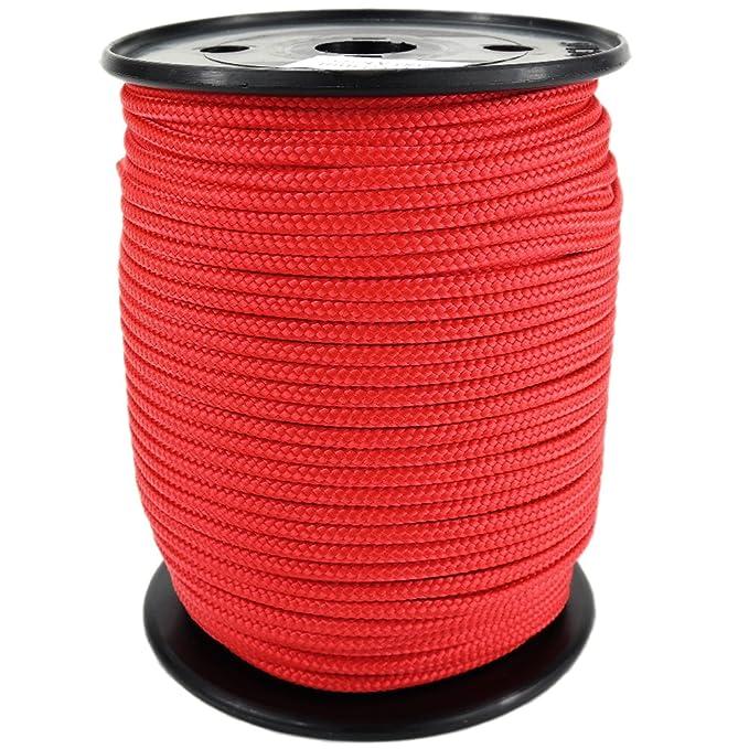 0144 PP Seil Polypropylenseil SH 8mm 100m Farbe Hanffarbig Geflochten