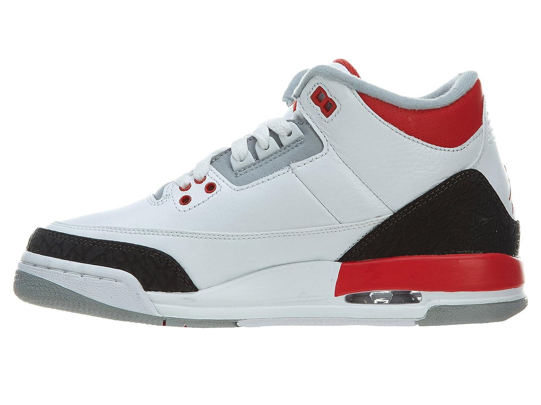 unisex-teen 398614-120 Blanc GS Nike AIR JORDAN Retro 3