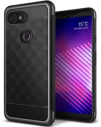 new arrival ea7dd 34ad5 Caseology Parallax for Google Pixel 2 XL Case (2017) - Award Winning Design  - Black