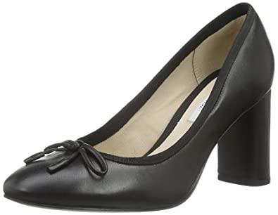 Clarks Grace Eva, Escarpins Femme, (Black Leather), 39 EU