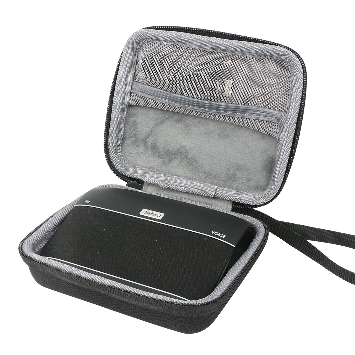 Hard Travel Case for Jabra Freeway Bluetooth In-Car Speakerphone by co2CREA