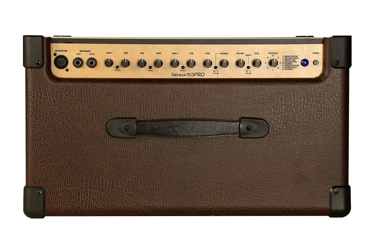 Kustom SIENNA65PRO 65W Acoustic Amplifier with Digital Effects by Kustom