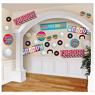 70's Party Cutout Kit: Toys & Games