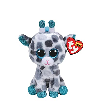 bf9d0be3b3c Image Unavailable. Image not available for. Color  Ty Claire s Beanies  Girl s Beanie Boo Small Gia The Giraffe Plush Toy