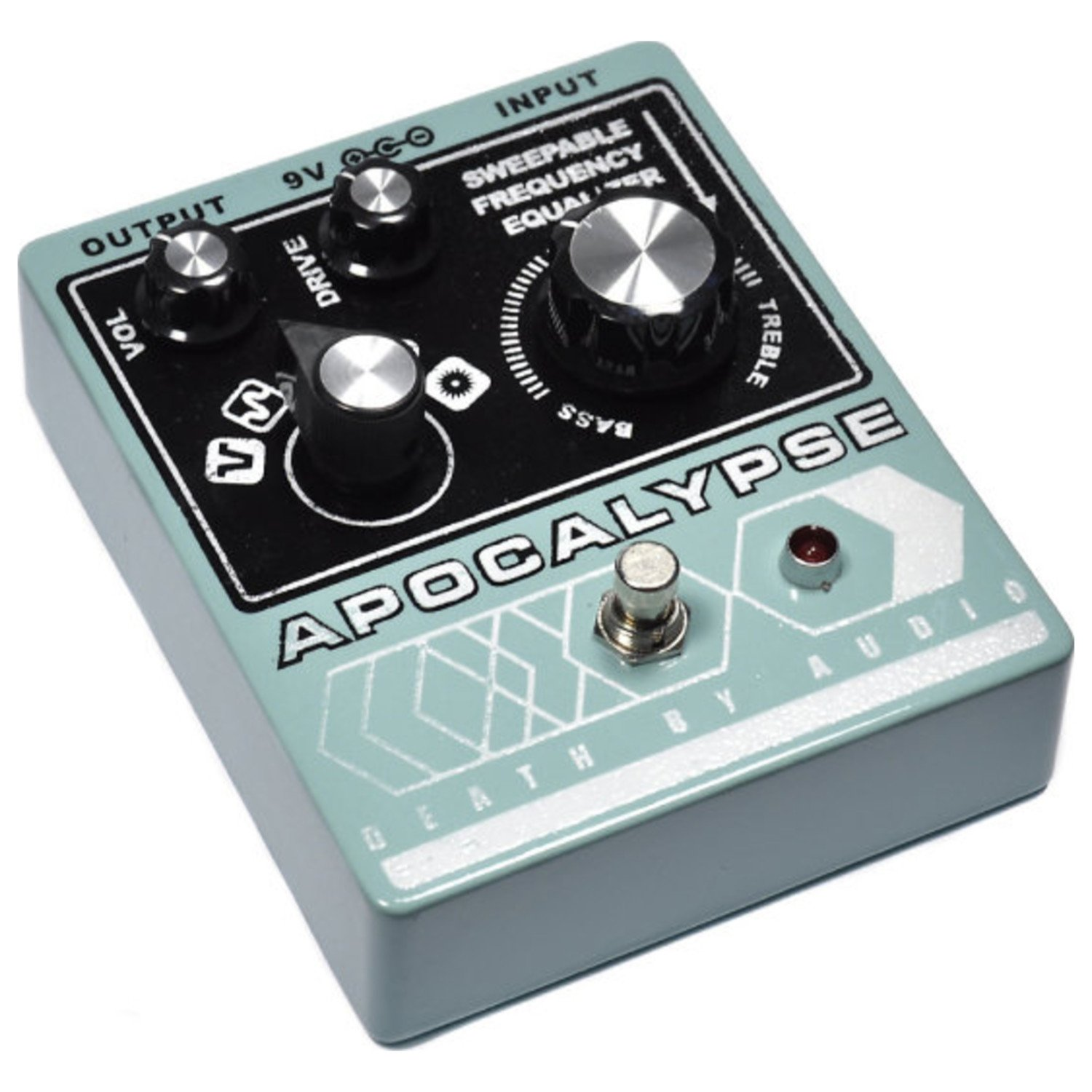 Death By Audio Apocalypse Distortion Fuzz Musical A Frequency Doubler Effect For Electric Guitar Instruments
