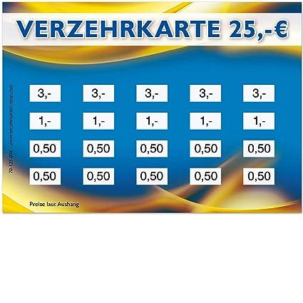 250 tarjetas de crédito, formato DIN A7, valor total 25 ...