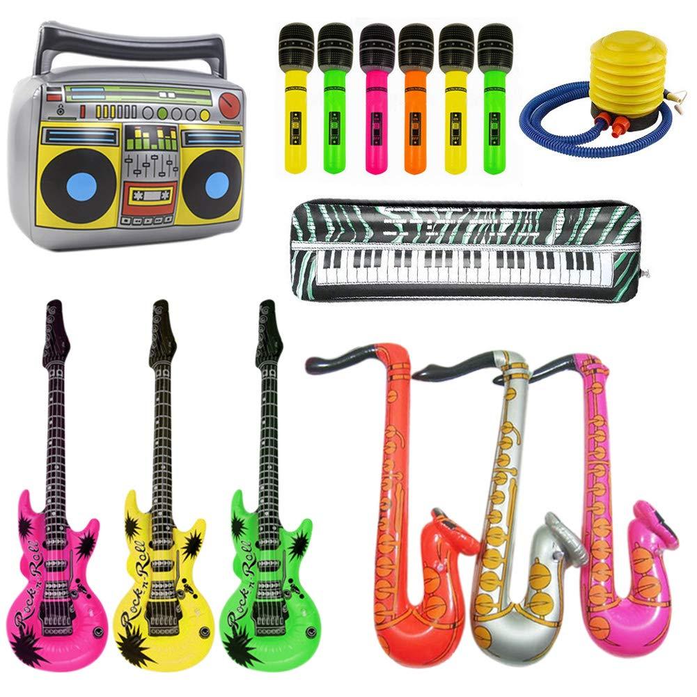 Lieblied Rock Star Toy - Set de Instrumentos Musicales para ...