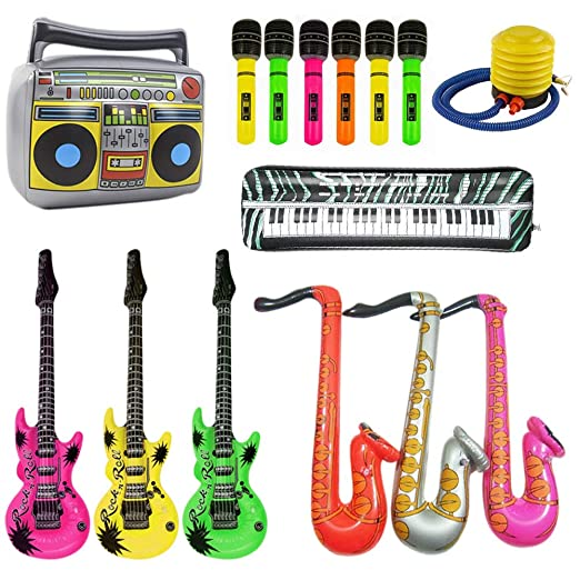 Lieblied Rock Star Toy - Set de Instrumentos Musicales para Fiesta ...