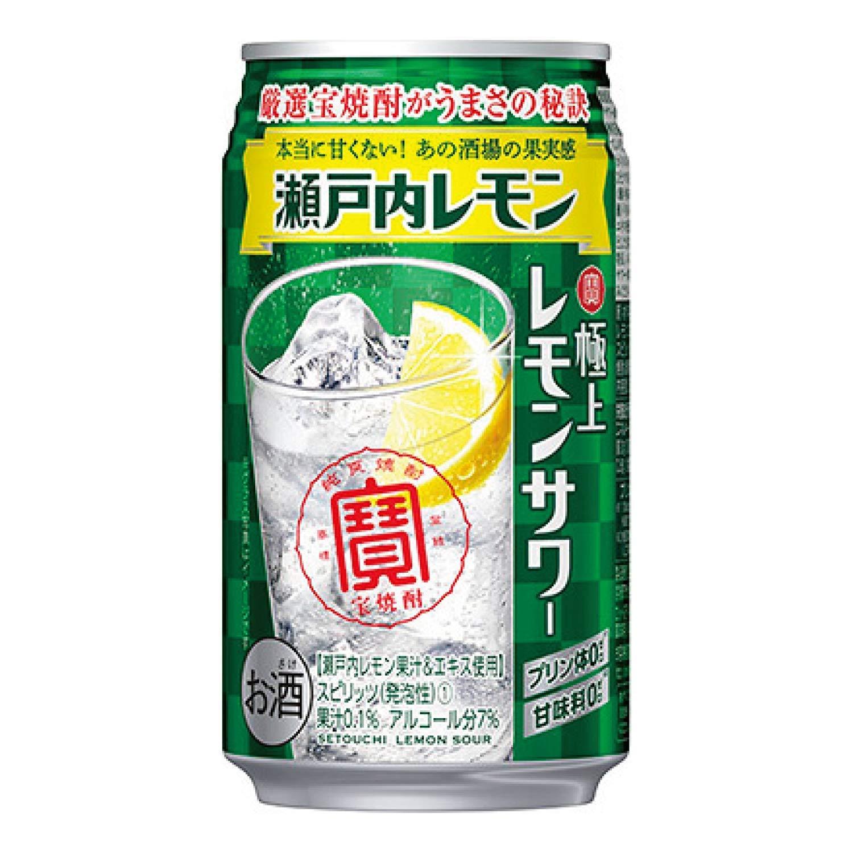 宝 極上レモンサワー【 瀬戸内レモン 】(350ml×24本)×3箱 B07NTH2XG3