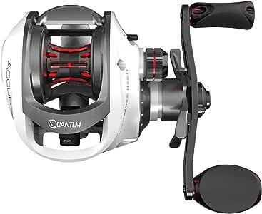 Quantum Accurist S3 PT Baitcast Fishing Reel, 8+1 Bearings, 7.0:1 Gear Ratio, Size 100