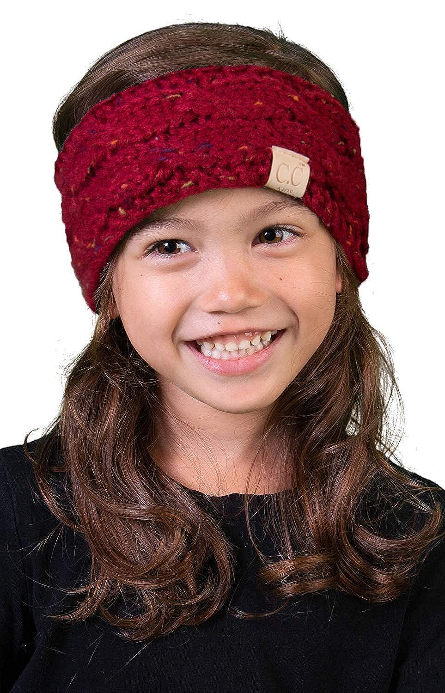 Funky Junque Kids Baby Toddler Knit Fuzzy Lined Head Wrap Headband Ear Warmer