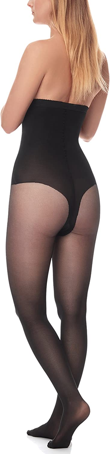 Antie Womens 40 DEN Body Shaping Tights M5115