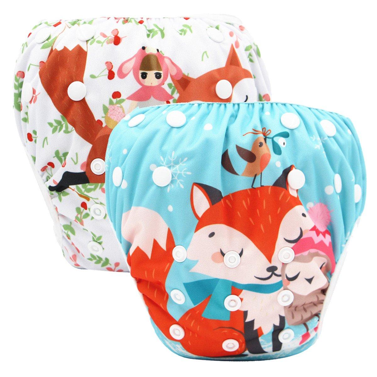 Storeofbaby Baby Swim Diapers Reusable Waterproof