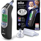 Braun ThermoScan 7 Ear Thermometer with Age Precision(White)