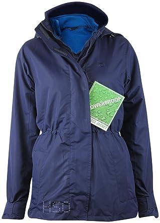 Ladies Womens  Fell  3 in 1 Water Resistant Jacket Navy Blue outdoor  walking climbing 6b05207dc