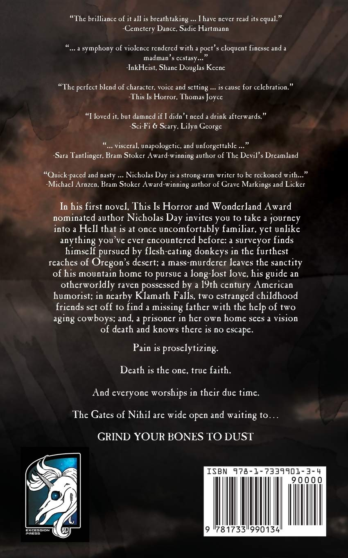 Grind Your Bones to Dust: Nicholas Day: 9781733990134