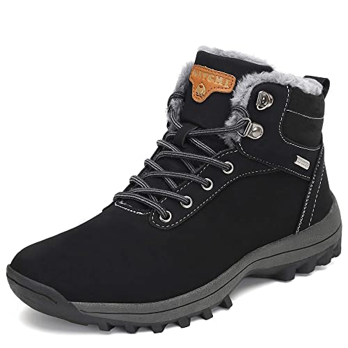 121b4b0009b19 Pastaza Men Women Snow Boots Winter Warm Ankle Boots Faux Fur Lined  Anti-Slip Waterproof Boots Outdoor Hiking Work Shoes
