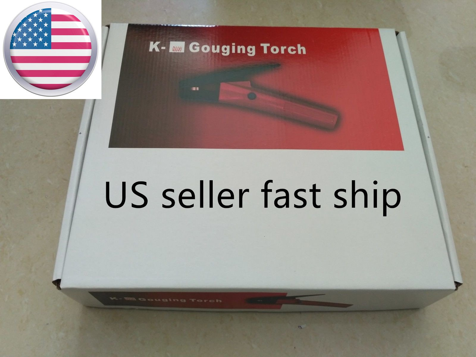 US Seller CARBON ARC GOUGING TORCH with 7' cable replace ARCAIR K3000 NEW IN BOX 600 AMP (ETA:2-8 WORK DAYS)