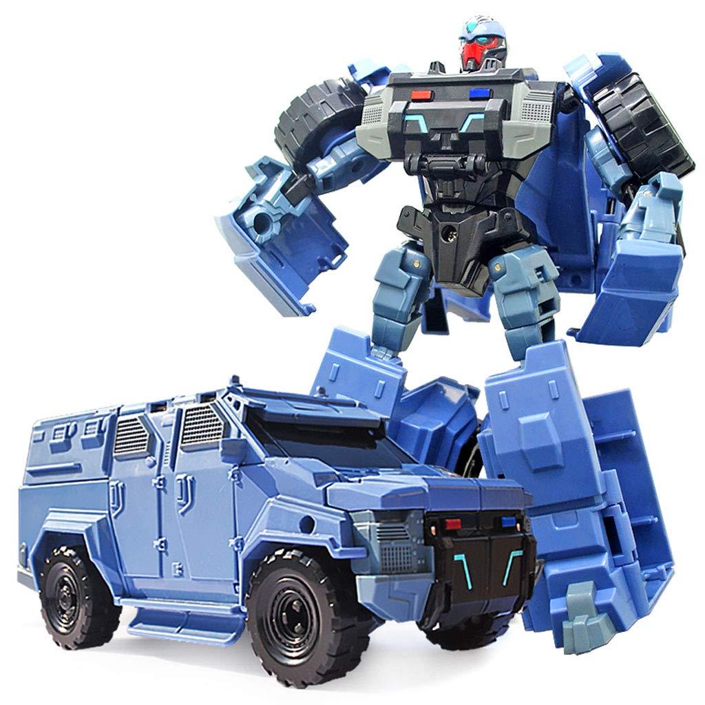 venta con descuento Siyushop Juguete de automóvil deformado, Juguete de automóvil de deformación deformación deformación Infantil, héroes Bots de Rescate, Modelo de Robot de Combate niños de 3 a 12 años (Color : Blue)  toma