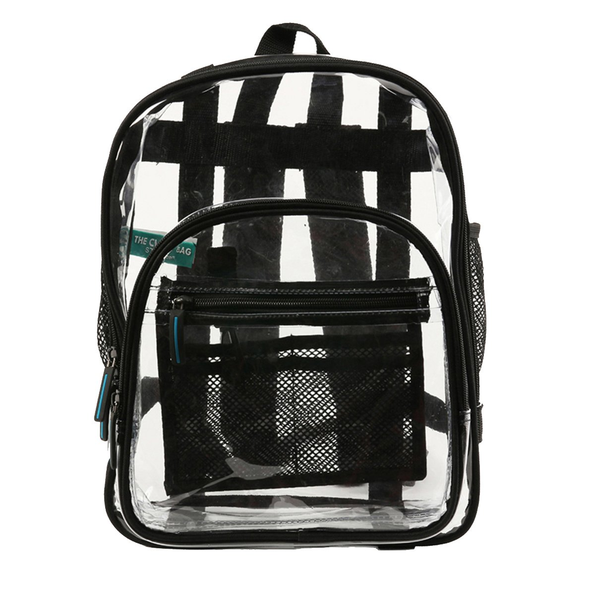 71f7583cb616 Amazon.com   Heavy Duty Clear Backpacks For Adults