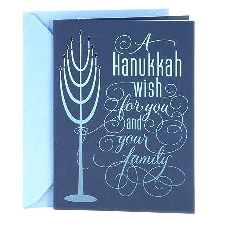 Amazon hallmark tree of life hanukkah card for a family blue amazon hallmark tree of life hanukkah card for a family blue menorah office products m4hsunfo