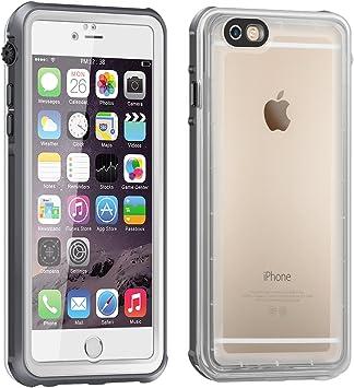 iPhone 6 Funda Impermeable, Eonfine Funda Caso Transparente ...